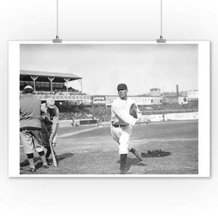 Red Ames, NY Giants, Baseball Photo (9x12 Art Print, Wall Decor Travel Poster)](Ny Giants Room Decor)