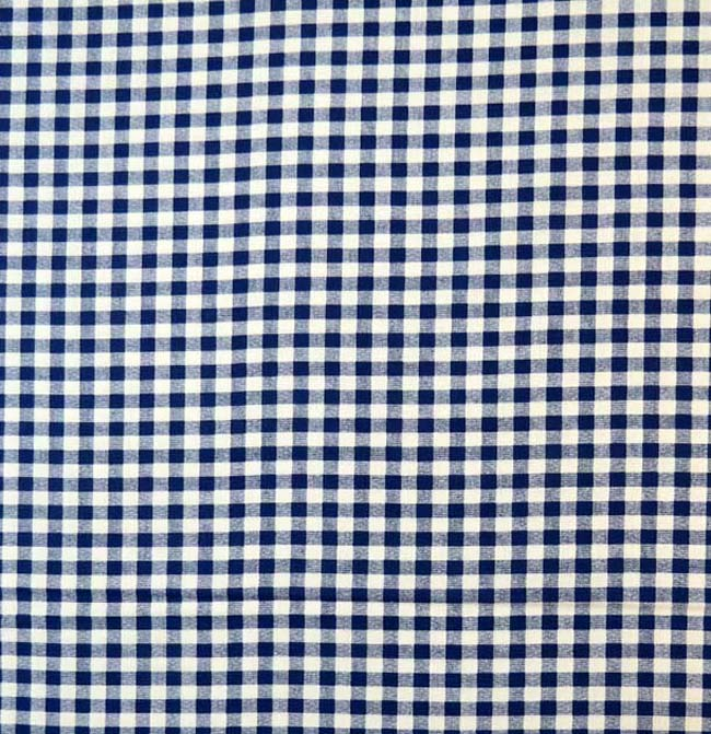 SheetWorld Fitted Sheet (Fits BabyBjorn Travel Crib Light) - Royal Gingham Check