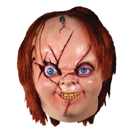 Trick Or Treat Studios Bride of Chucky: V2 Chucky Mask Halloween Costume Mask](Chucky Costume)
