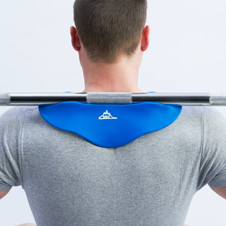 Black Mountain Products Professional Stabilizing Squat Pad for Weight Lifting (Bar Front Squat)