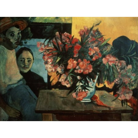 French Bouquet  1891 Paul Gauguin  Oil on canvas Pushkin Museum of Fine Arts Moscow Poster Print