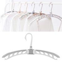 YLSHRF Extensible Folding Clothes Overcoat Hanger Holder Portable Travel Clothes Drying Rack,Folding Hanger, Clothes Drying Rack