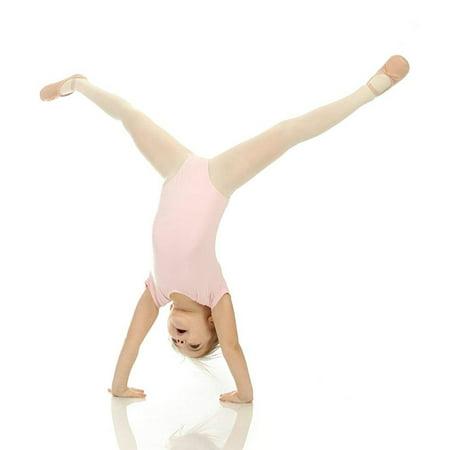 Elowel Girls' Team Basics Short Sleeve Leotard White (size-8-10 ) - image 3 of 4