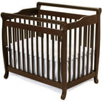 DaVinci Emily 2-in-1 Mini Crib and Twin Bed, Espresso