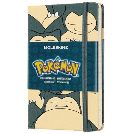 Moleskine Limited Edition Notebook Pokemon Snorlax, Pocket, Ruled, Hard Cover (3.5 X 5.5) (Other)](Pokemon Notebook)