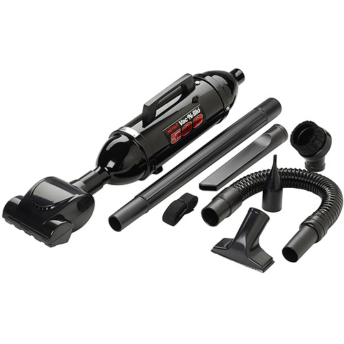 Metropolitan Vacuum Cleaner Co. VM12500T Vac 'N' Blo with Turbine Brush, Black