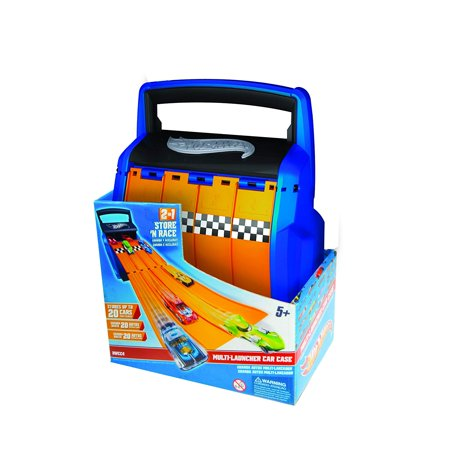 Neat-Oh Hot Wheels Racing Battle Case, HOT WHEELS STORAGE case to park and protect up to 20 cars and vehicles; measures 7.3 inches by 4.5 inches by.., By