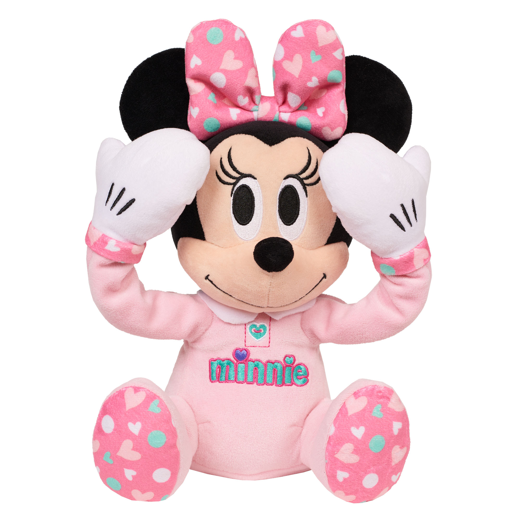 Disney Baby Peek-A-Boo Plush Minnie Mouse by Just Play