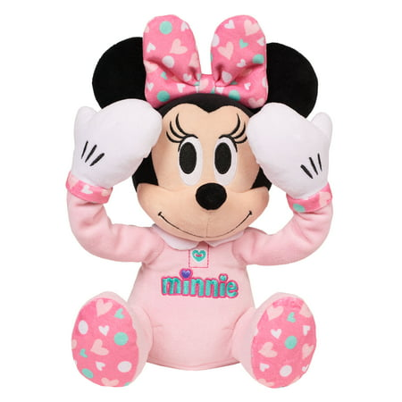 Disney baby peek-a-boo plush - minnie mouse - Cheerleader Minnie Mouse Doll