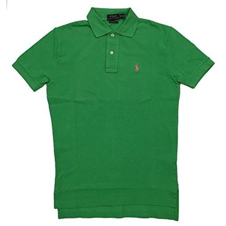 ralph lauren mens classic fit mesh pony logo polo shirt (x-small, caymen (Mint Green Ralph Lauren Polo)