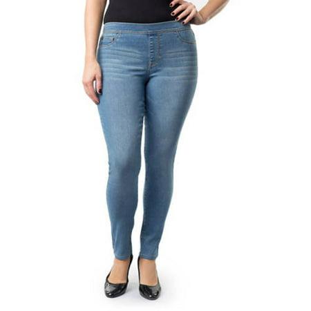Jordache Women's Plus-Size Pull-On Jeggings - Walmart.com