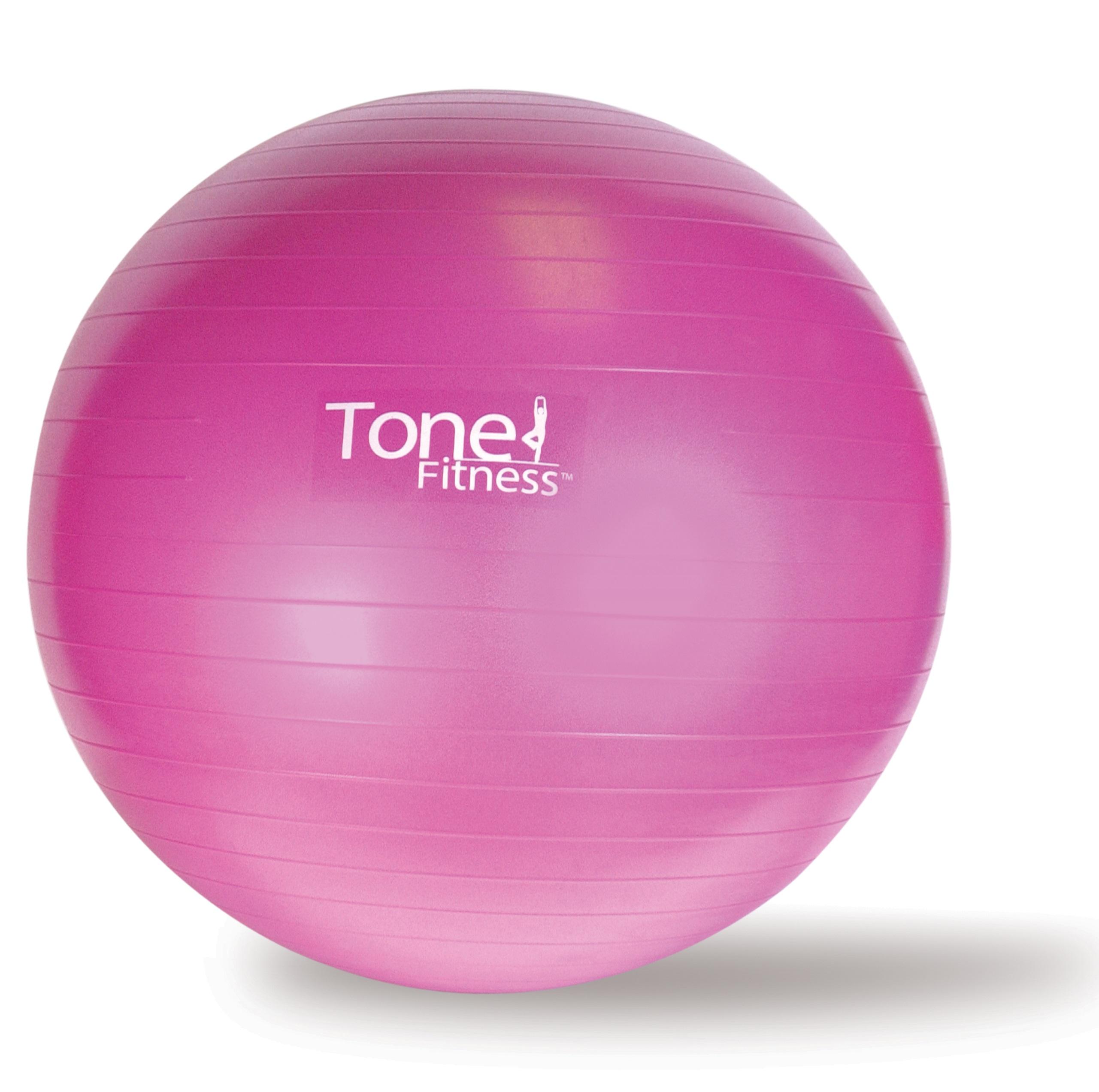 Tone Fitness Anti-burst Stability Ball, Assorted Sizes