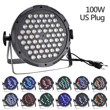 LED Stage Light, Super Bright Lights RGB Mixing DJ Up lighting, Best for Wedding/Birthdays/Christmas Party Show Dance Gigs Bar Club