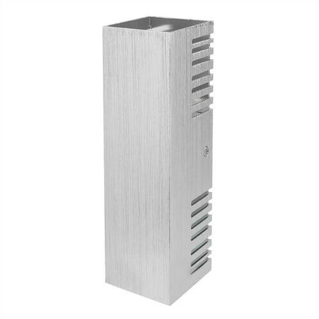 Ejoyous  Lumière blanche chaude en aluminium de lumière de mur de lampe de l'effet blanc chaud de 6W pour le décor d'éclairage intérieur, LED d'intérieur, lumière d'intérieur - image 11 de 12