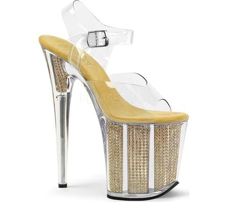 Women's Pleaser Flamingo 808SRS Platform Sandal