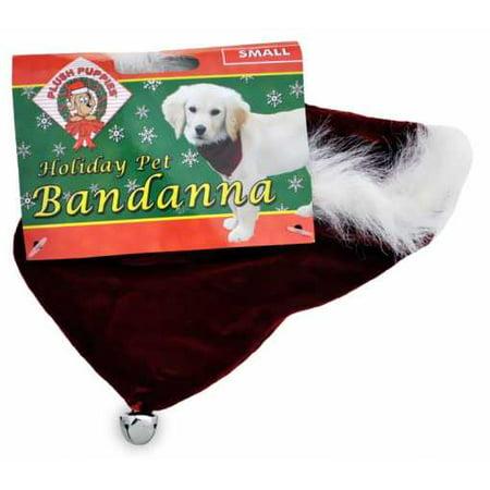 Dog Fashion Bandana - Fashion Pet Santa Bandana