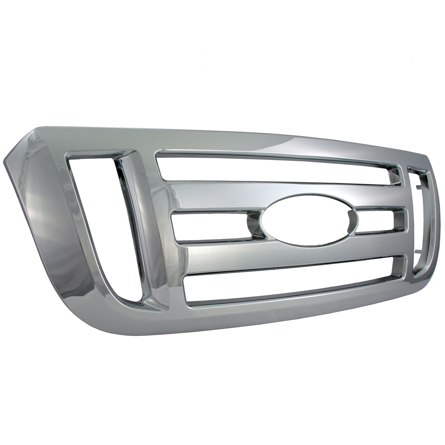 Bully GI-103 Triple Chrome Plated ABS Grille Overlay