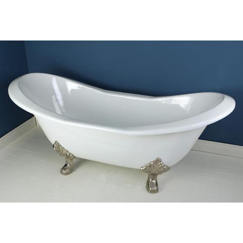 Kingston Brass Aqua Eden 72'' x 31''  Soaking Bathtub