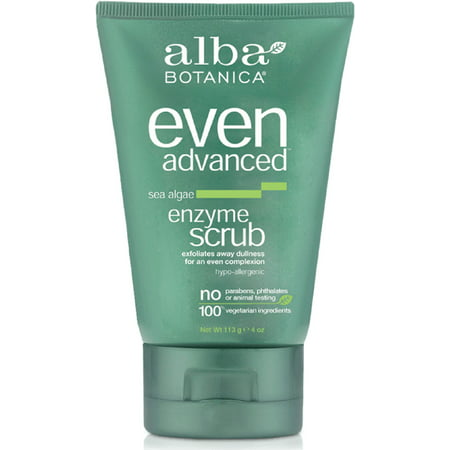 Alba Botanica Even Advanced Sea Algae Enzyme Scrub, 4 - Alba Scrub