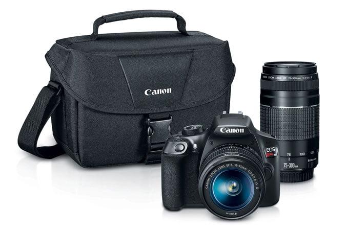 Foto en camera: accessoires Foto en camera Canon EOS Rebel T5i Camera External Microphone Vidpro XM-L Lavalier Microphone