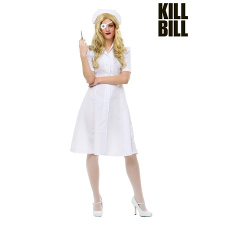 Kill Bill Elle Driver Nurse Costume for - Bill Clinton Costume