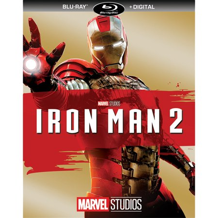 Iron Man 2 (Blu-ray + Digital)](Halloween Ii Blu Ray Walmart)