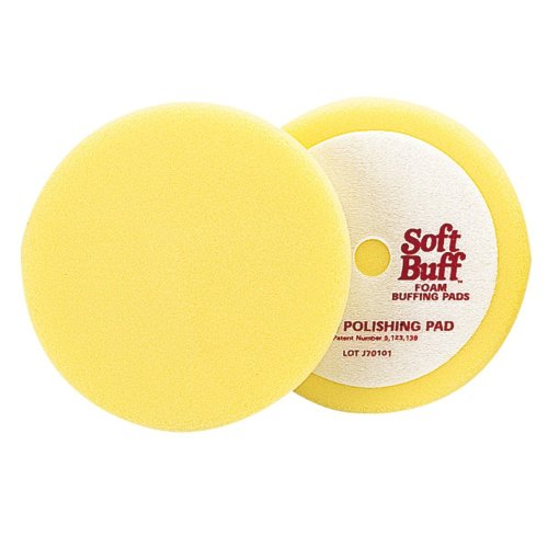 "Meguiars W8006 6-1/2"" Soft Buff Foam Polishing Pads"