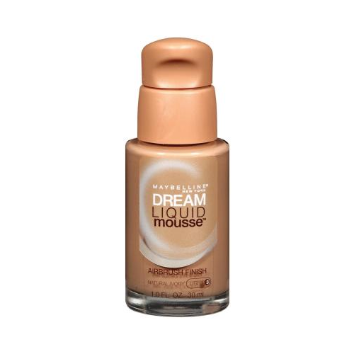 Maybelline New York Dream Liquid Mousse Foundation, Natural Ivory Light 3, 1 Fluid Ounce