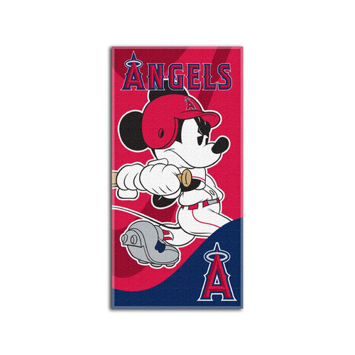 """Boston Red Sox 30"""" x 60"""" Mickey Mouse Beach Towel"""