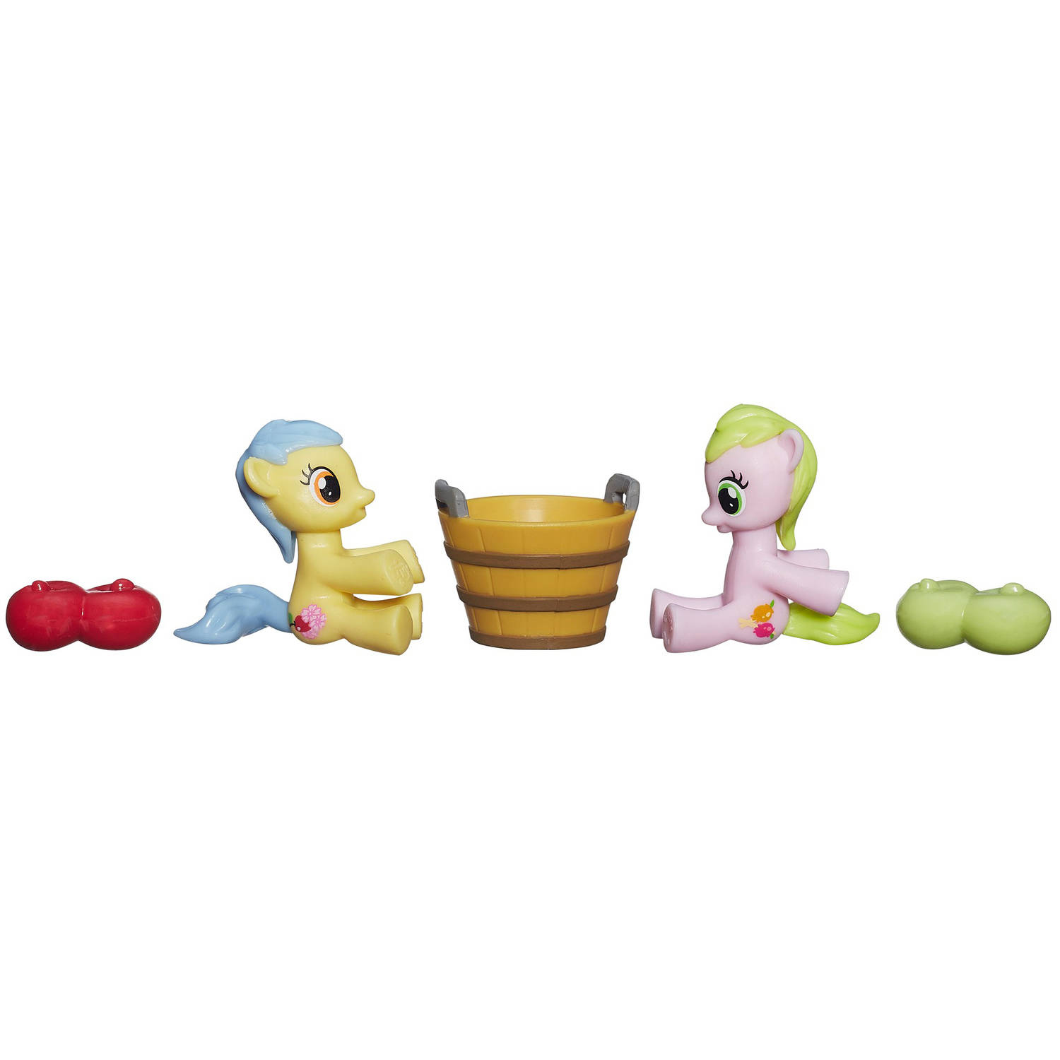 My Little Pony Friendship is Magic Collection Apple Flora and Candy Caramel Tooth Figure... by Generic
