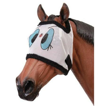 Tough-1 Ladybug Mesh Horse Fly (Mesh Fly Mask)