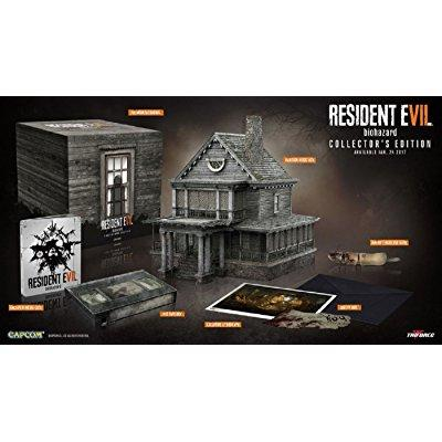 Capcom resident evil 7 : biohazard collector's edition- p...