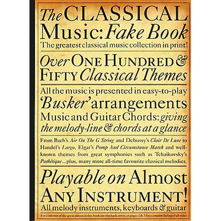 The Classical Music Fake Book](Famous Halloween Music Classical)