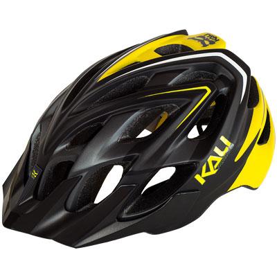 Kali Protectives Chakra Plus Helmet Sonic Matte Black/Yellow, Xs/S