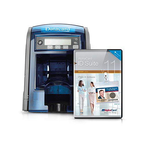 DataCard SD260 ID Card Printer 100 Input Hopper and Alpha...