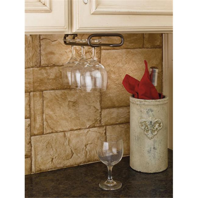 Rev-A-Shelf RS3150.16ORB 16 ft. D Single Stemware Rack-Oil Rubbed Bronze
