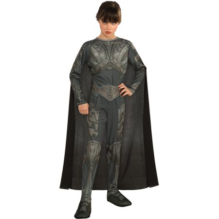 Childs Girls Superman Man of Steel Faora Costume