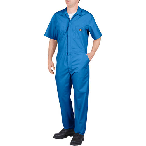 Men's Short Sleeve Deluxe Poplin Coverall by Dickies