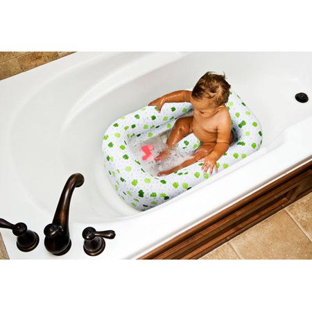 mommy 39 s helper inflatable frog bath tub. Black Bedroom Furniture Sets. Home Design Ideas