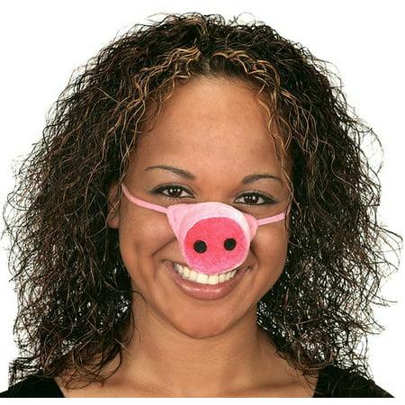 Plush Pig Nose Miss Piggy Snout 22198 - Miss Piggy Accessories