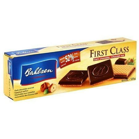 Bahlsen Wafers - Bahlsen Hazelnut Wafer Cookies, 4.4 oz (Pack of 12)