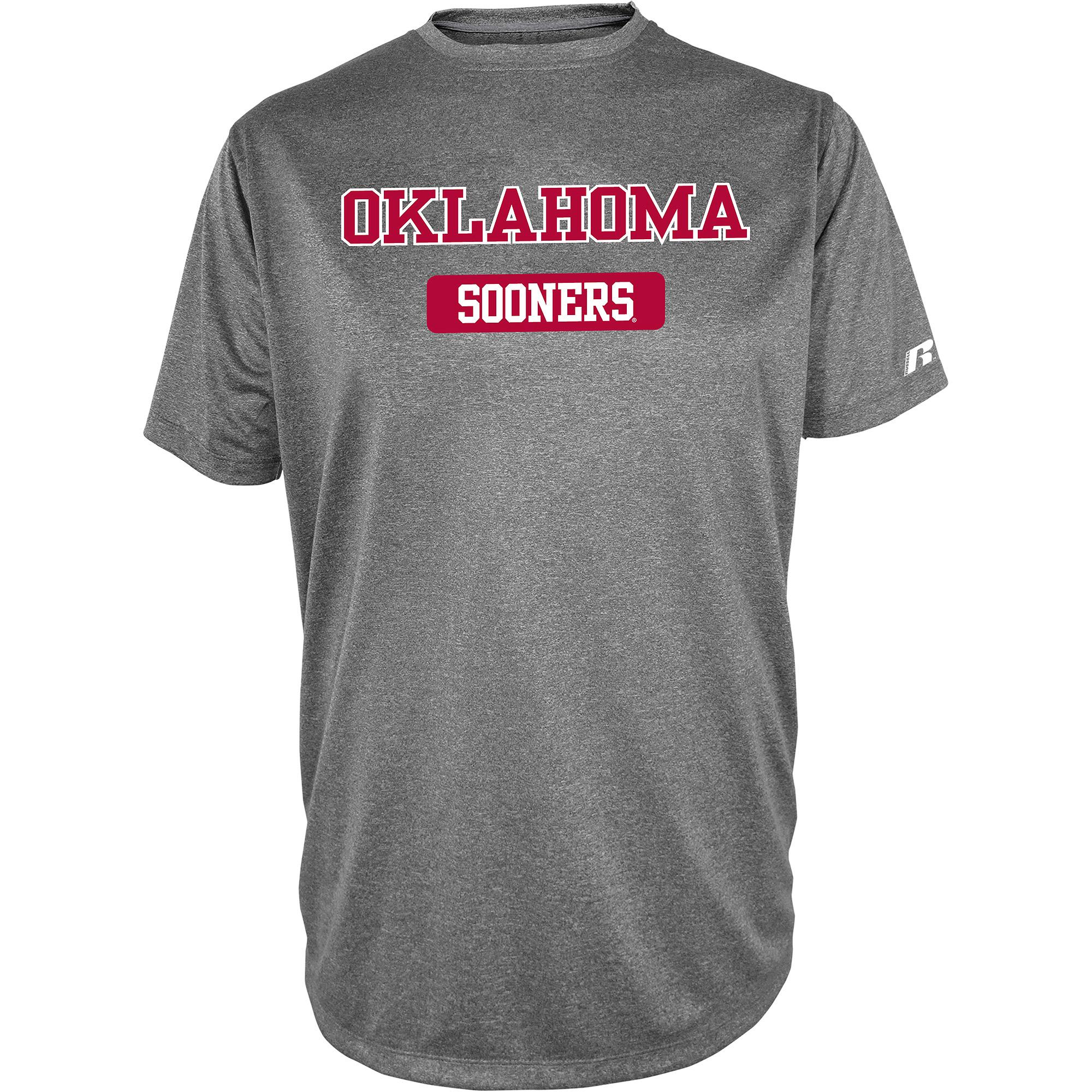 Russell NCAA  Oklahoma Sooners, Men's Impact T-Shirt