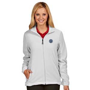 New York City FC Womens Ice Polar Fleece Jacket (Color: White) by