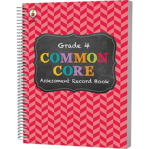 Common Core Assessment Record Book, Grade 4