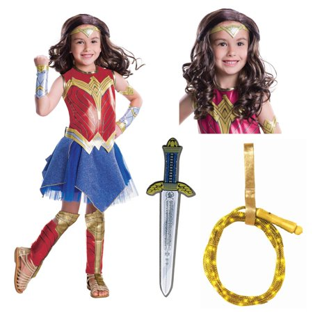 Justice League Movie - Wonder Woman Deluxe Children's Costume Kit](Buy Costumes Coupons)