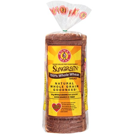 Roman Meal® Sungrain® 100% Whole Wheat Bread 16 oz  Loaf