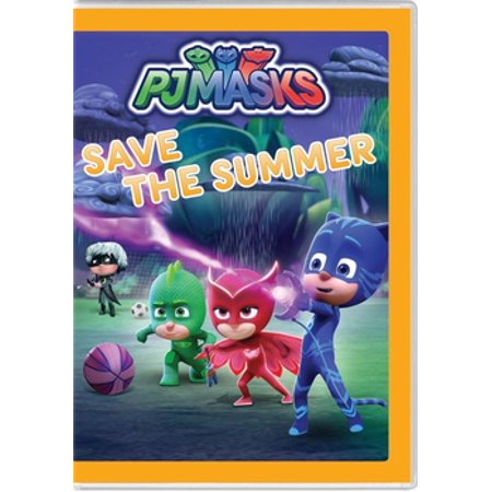 PJ Masks: Save the Summer DVD