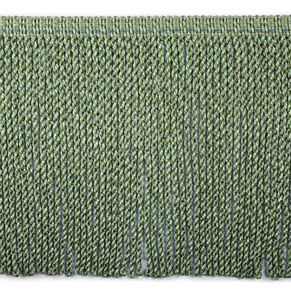 Expo International 5 Yards of 6 Chainette Fringe Trim 5 yd x 6 Lime