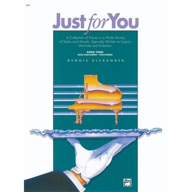 Alfred 00-407 Just for You- Book 3 - Music Book