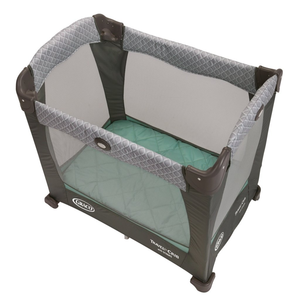 Graco Travel Lite Baby Bassinet Portable Playard Foldable
